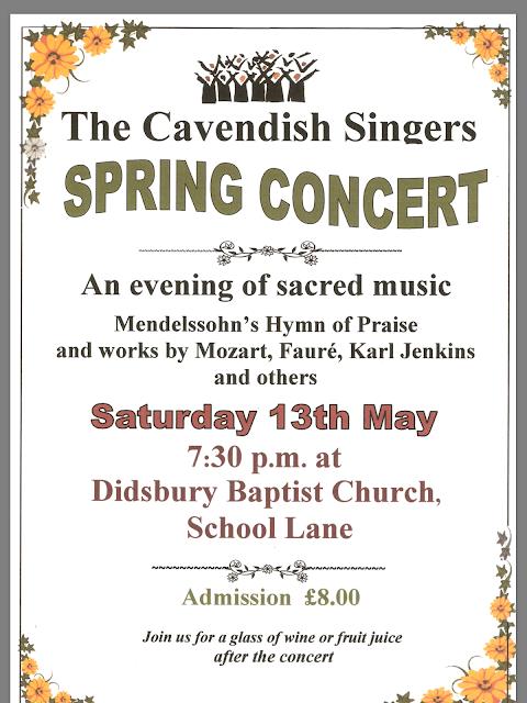 Spring Concert Poster 2017